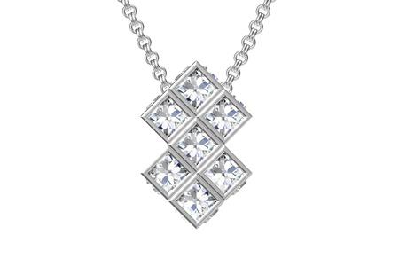 The beauty diamond pendant Stock Photo - 15366951
