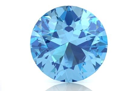beryl: aquamarine Stock Photo