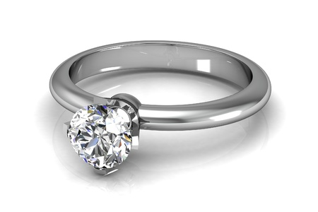 The beauty wedding ring 版權商用圖片