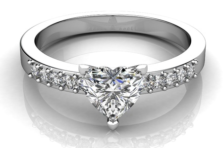 the beauty wedding ring Stock Photo - 16393089