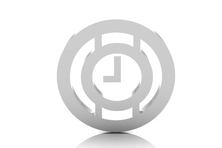 time icon Stock Photo - 16481725