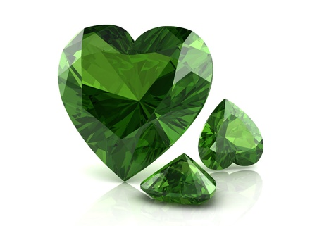 green tourmaline: tourmaline Stock Photo
