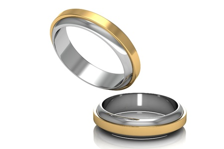 The beauty wedding ring Stock Photo - 16872015