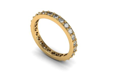 The beauty wedding ring Stock Photo - 16872031