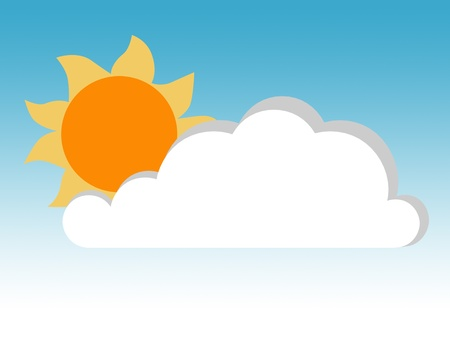 sizzling: Sun and Cloud