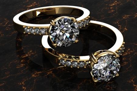 The beauty wedding ring Stock Photo - 17451635