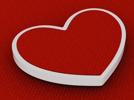 Liefde achtergrond (hoge resolutie 3D-beeld)