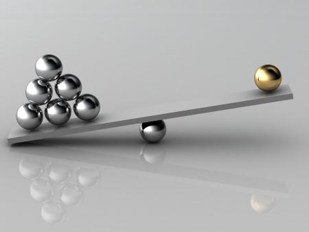 disbalance  high resolution 3D image
