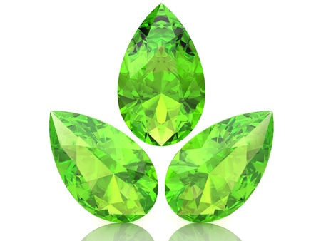Peridot (high resolution 3D image) photo