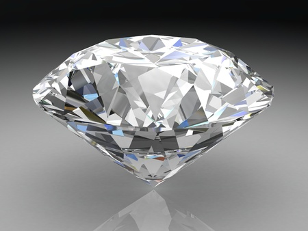 diamond (high resolution 3D image) photo