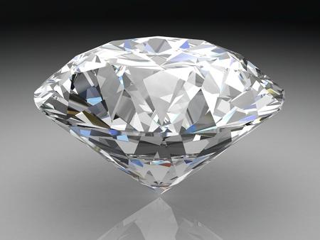 diamond (high resolution 3D image)