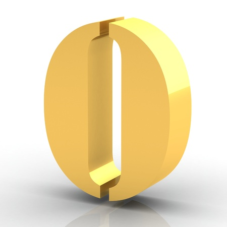 The Number 0 - Gold photo
