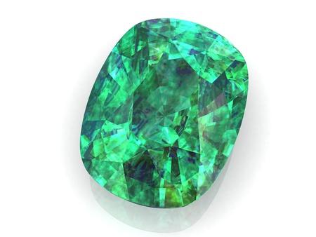 emerald (high resolution 3D image) photo