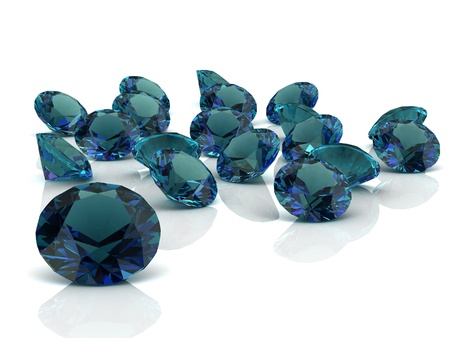 zircon: alexandrite  high resolution 3D image