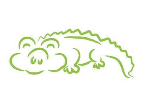 nile river: Crocodile