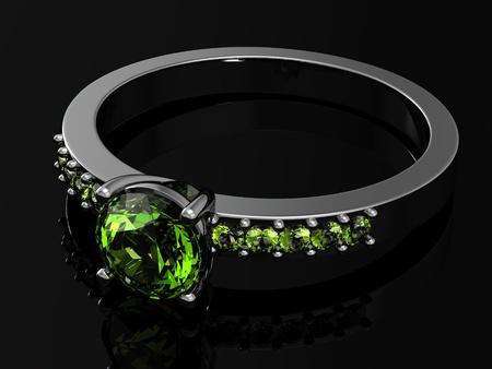 xmass: wedding rings (high resolution 3D image)