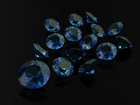spinel: alexandrite Stock Photo