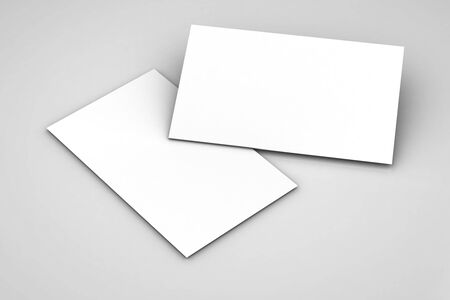 modelling: close up of stack of papers on white background