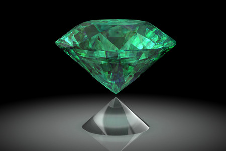 emerald (high resolution 3D image) photo