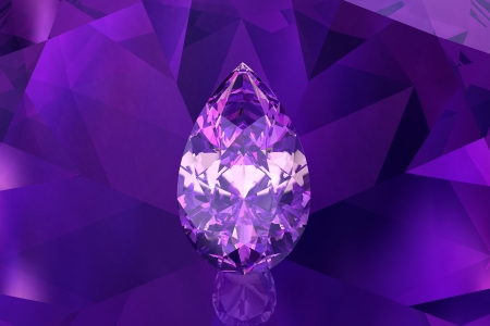 amethyst (high resolution 3D image)