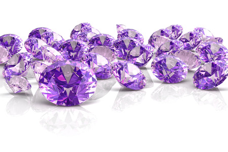 amethyst (high resolution 3D image) Stock Photo - 23568514