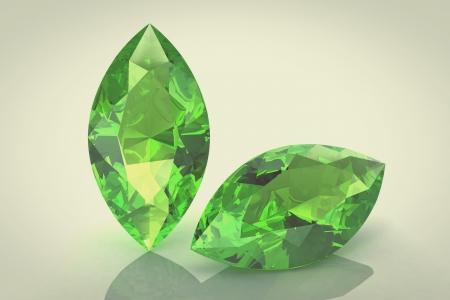tsavorite: emerald