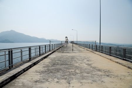 nakhon: Prakarnchon Khun Dan Dam, Nakhon Nayok, Thailand Stock Photo