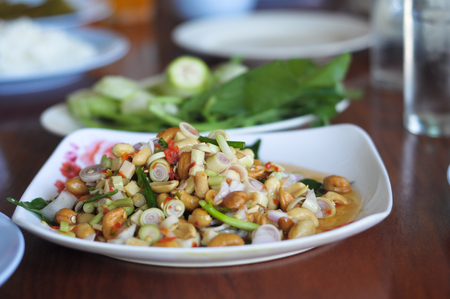 Spicy Herbal Food in Thailand photo