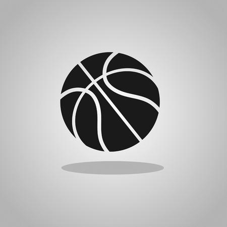 basketball ball: basketball icon Illustration