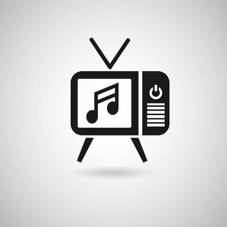 Entertainment tv logo Vector