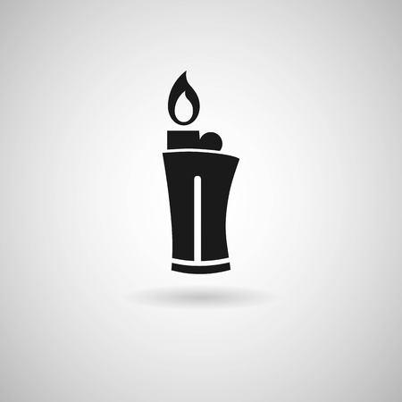 ljusare: Lighter fire icon