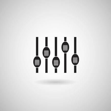 Console de mixage sonore Banque d'images - 29166474