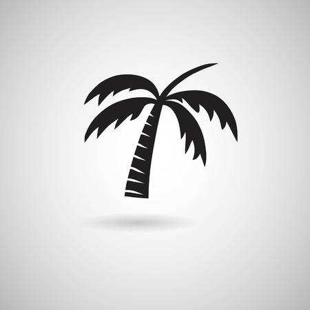 insular: Palm Tree sign icon
