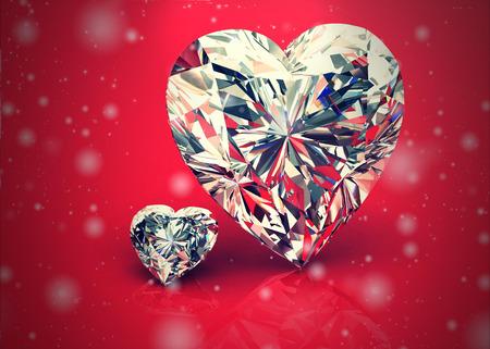 diamantina: diamante joya Foto de archivo