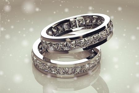 Mooie sieraden ring Stockfoto