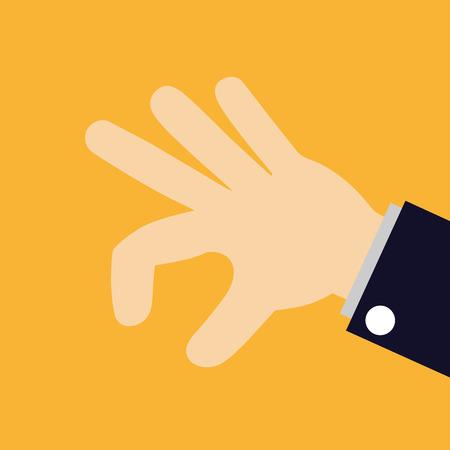 arm up: hand picking something