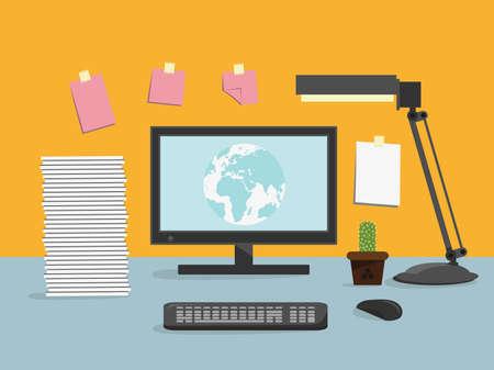 klawiatury: Computer desk, workplace