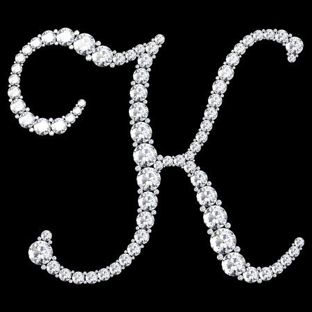 stunning: A stunning beautiful K set in diamonds. V.7