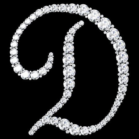 stunning: A stunning beautiful D set in diamonds. V.7