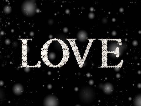 diamond: diamond words love