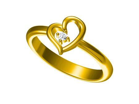 fashion jewelry: Wedding ring. Sign of love. Fashion jewelry