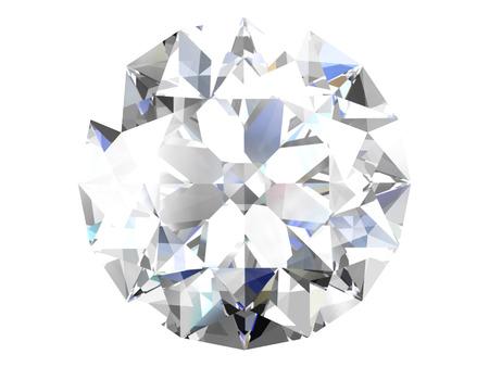 stetting: Diamond on white background