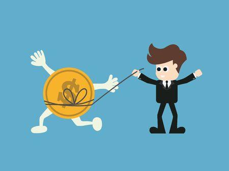 exploit: Success finance concept.vector illustration.