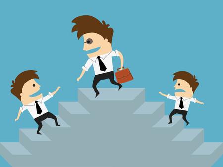 financial adviser: Financial adviser or business mentor help team partner