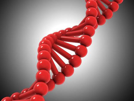 cromosoma: Fondo de ADN - ilustración 3D