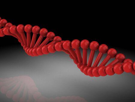 DNA Background - 3D illustration