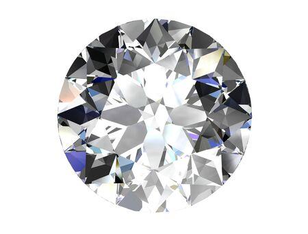 ダイヤモンド ホワイト バック グラウンド (高解像度 3 D 画像)