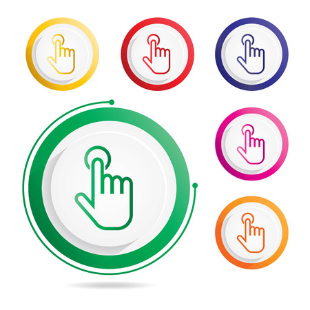 Hand Gesture icon Stock Vector - 100962819