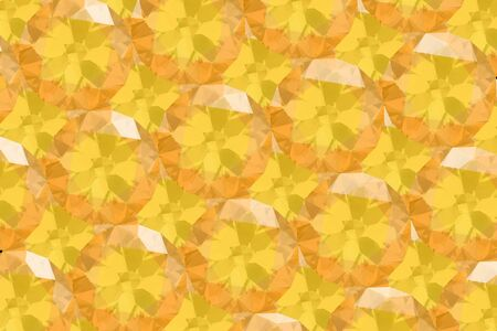 Vintage crystal facet background.3D illustration.