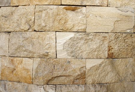 Stone wall background Banco de Imagens